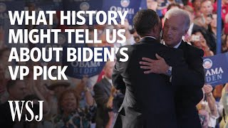For Clues to Biden's VP Pick, Look to History | WSJ