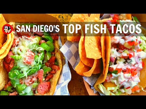 San Diego Must Eat Foods: Best Fish Taco Crawl