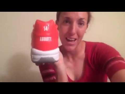 Monica Abbott Custom Cleats Reveal