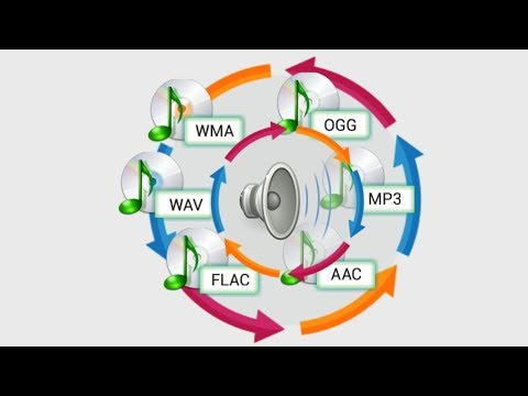 Cara Merubah Format Audio ke mp3, mp2, wav, ogg, AAC, wma, flac