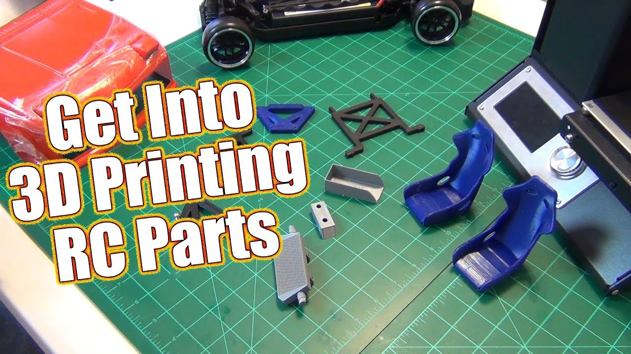 Design & 3D Print Your Own RC Parts! - Mark Talks 3D Printing & Project  Altered Apex | RC Driver
