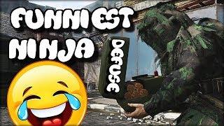 Funniest Ninja Defuse To Win Game! (CoD WW2)
