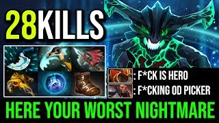 Your Worst Nightmare [Outworld Devourer] The Greatest Cancer to Counter Strength Heroes   Dota 2