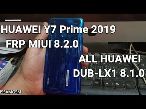 Tube Reader | Bypass Google Account HUAWEI Y7 Prime 2019 DUB