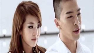 Taeyang and Dara love  moments