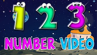 Kids 123 Learning Videos Song |  Children's music | Count 1 to 10