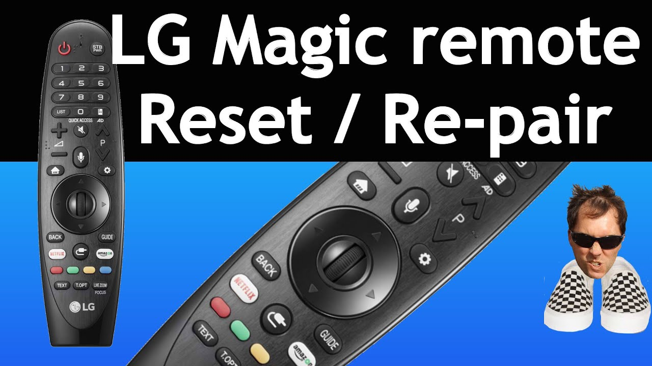 AN-MR19BA - Black LG Replacement Magic Remote Control for LG Renewed