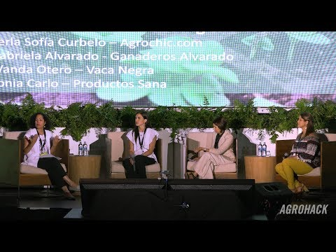 "Agrohack 2017: Panel - ""Women Feeding The World!"""