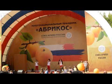 Праздник абрикоса в Москве 2018 - Армянский фестиваль
