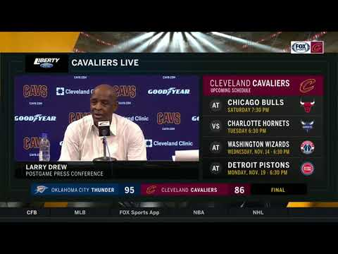 Cavs coach Larry Drew responds to the reports of veteran players unhappy with Collin Sexton