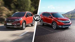 2017 Honda CR-V: Сравнение новой модели со старой(, 2017-01-16T19:00:02.000Z)