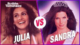 Who is the Rom-Com Queen?   Julia Roberts vs. Sandra Bullock   Rotten Tomatoes