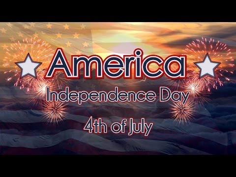 America 2016 - 4th of July Independence Day Celebration Video with Fireworks