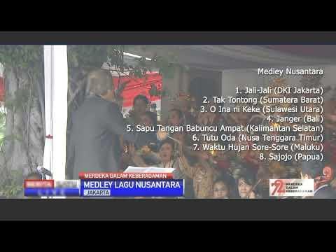 Gita Bahana Nusantara 2017 - Indonesian Traditional Medley Song
