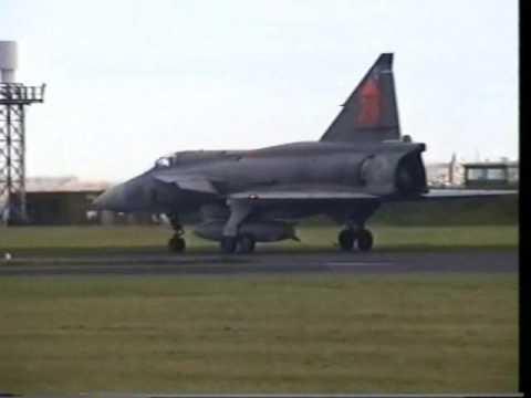 Swedish Air Force  SAAB Viggen, Leuchars Airshow  2000