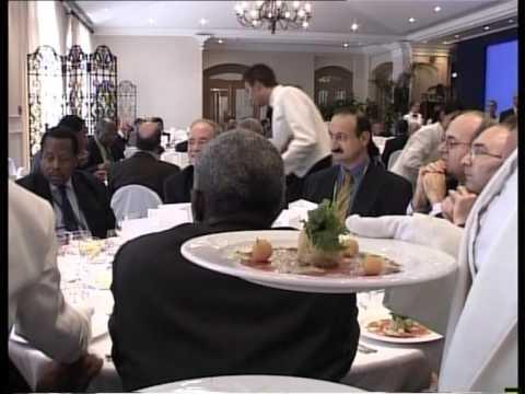 Chogm Malta 2005 Lunch Hosted by CTO Chairman Anthony DeBono & CEO Dr EKWOW SPIO GARBRAH