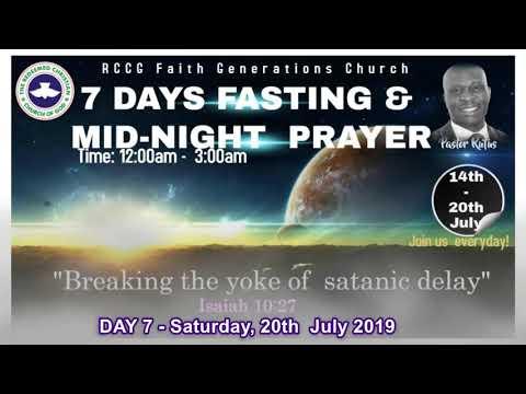 BREAKING THE YOKE OF SATANIC DELAY - DAY 7