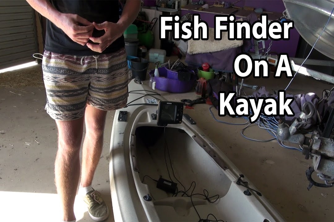 How to install a fish finder on a kayak youtube for Fish finder on kayak