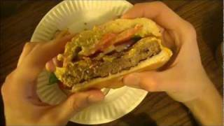 Burger King - Chef's Choice Burger  Fast Food Review