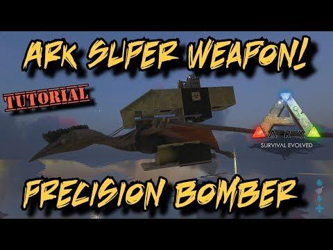Precision Bomber Quetz and Biological Warfare - Ark Survival Evolved