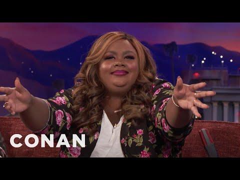 Conan vs. Nicole Byer Has A Message for Chadwick Boseman