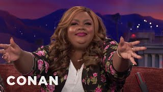 Nicole Byer Has A Message For Chadwick Boseman  - CONAN on TBS