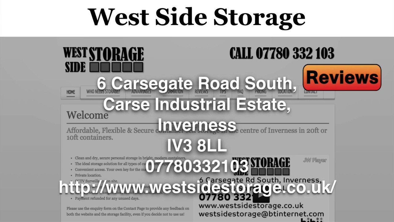 West Side Storage Reviews Units Inverness 07780 332103