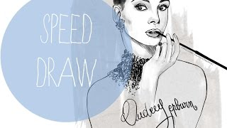 Audry Hepburn-Speed draw