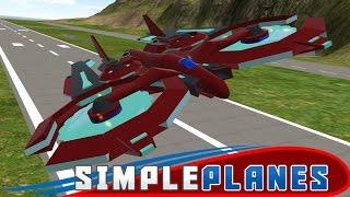 SimplePlanes Gameplay - Besiege meets KSP! - Let