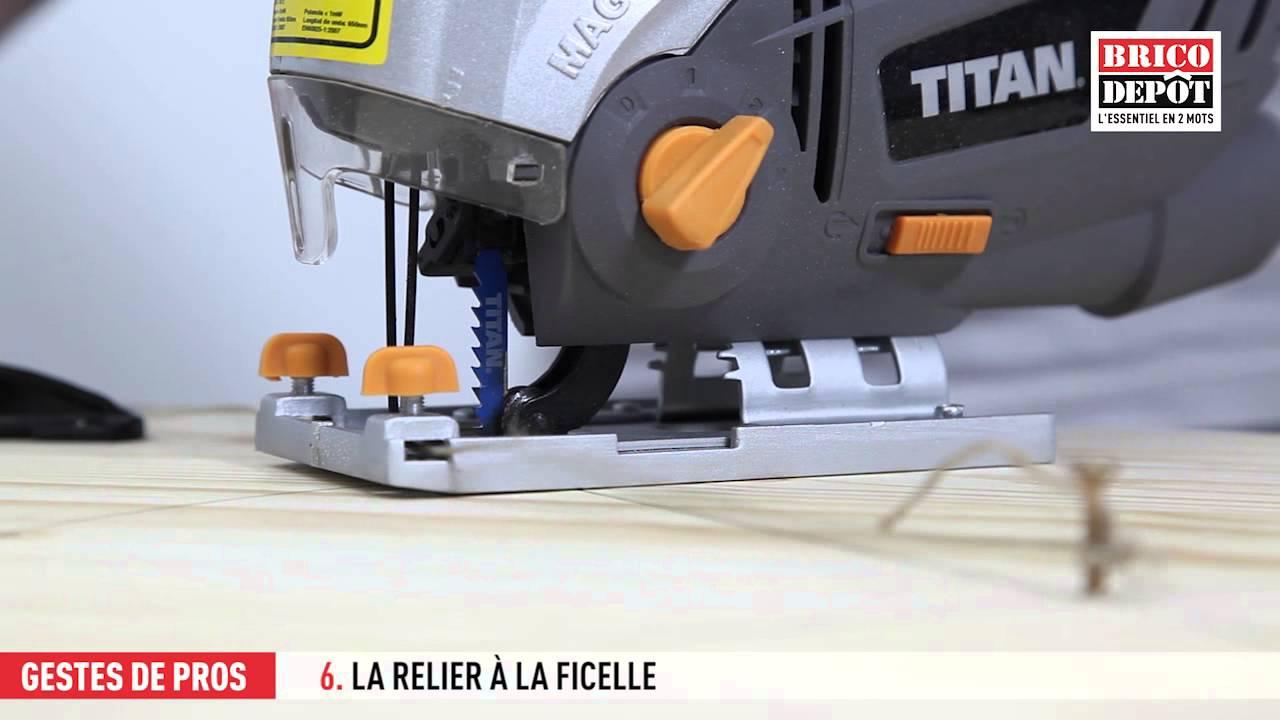 Comment Couper Un Cercle A La Scie Sauteuse Videos Brico Depot Communaute
