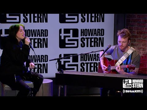 "Billie Eilish ""All The Good Girls Go To Hell"" Live On The Howard Stern Show"