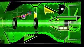 [Geometry Dash] Spacelocked By LazerBlitz 100% (Hard Memon) (On Stream) (60Hz)