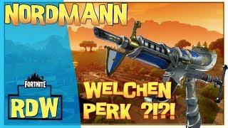 Nordmann ,gute Waffe? welcher Perk ist besser? | Fortnite Rette Die Welt