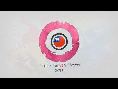 osu! Taiwan top20 players 2016