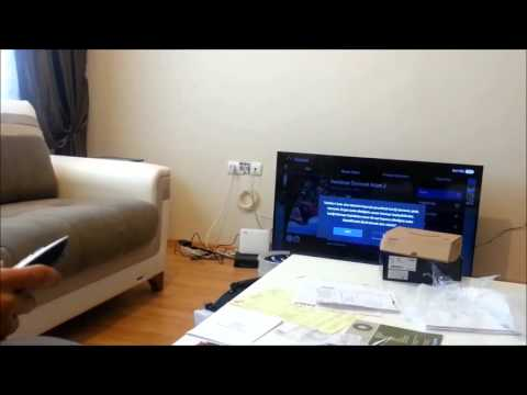 Turkcell Tv+ tanıtırken yanlışıkla film alan Tv görevlisi