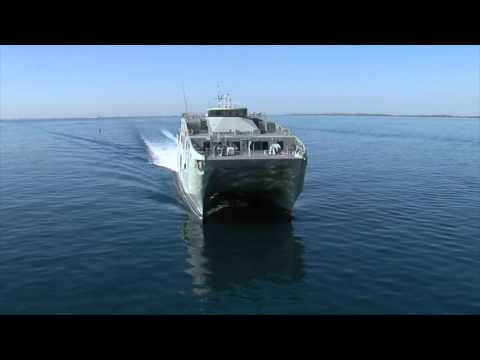 Austal 72m High Speed Support Vessel - future RNOV AL MUBSHIR (S11)
