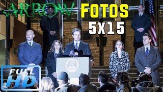 El REGRESO de PROMETHEUS! Arrow 5x15 FOTOS (HD)