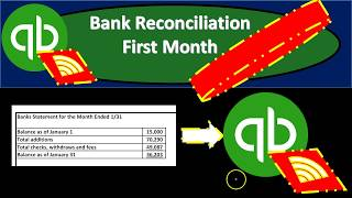 QuickBooks Online 2019-Bank Reconciliation First Month