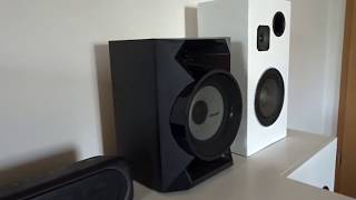 Sony Mhc ecl77bt Sound Test