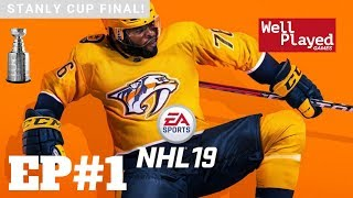 NHL 19 Stanley Cup Finals Ep1 W/ Air Val (Gameplay Series)