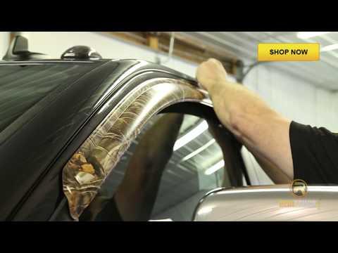 Stampede Camo Window Deflectors - Fast Facts