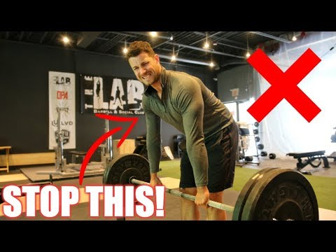 How You Can Perfect the Straight Leg Deadlift