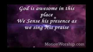 God Is Awesome In This Place By Hilsong