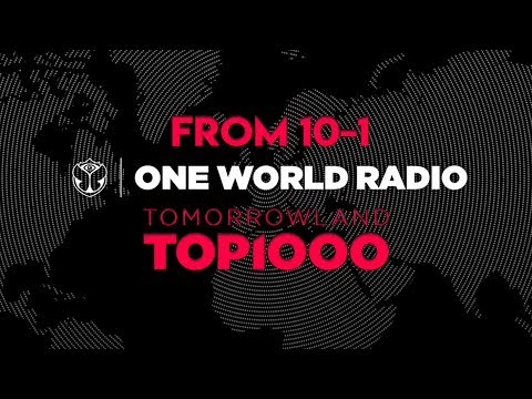 [TOP 10] Tomorrowland Top 1000 on One World Radio