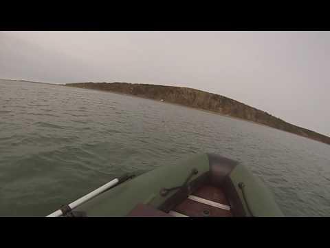 лодка Кайман 360 с двигателем 9.9 после обкатки