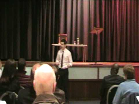 David Lurie's Third Toastmasters Speech (Get To Th...