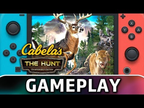 Cabela's: The Hunt - Championship Edition | First 20 Minutes On Switch