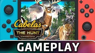 Cabela's: The Hunt   Championship Edition | First 20 Minutes On Switch