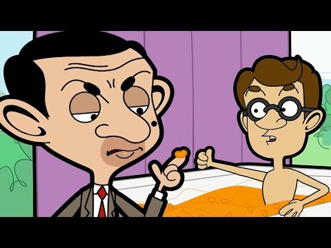 Cheesy Bath | Funny Clips | Mr Bean Cartoon World