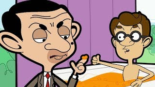 Cheesy Bath 🧀| Funny Clips | Mr Bean Cartoon World